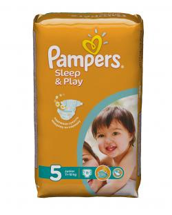 Стандартна упаковка Sleep&Play Pampers подгузники 5JUNIOR 11 шт