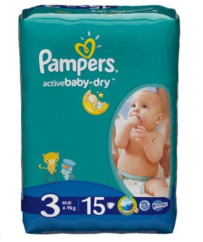 Pampers Active Baby Dry купить - 1